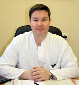 Пантелеев Александр Михайлович. Заведующий отделением -врач-фтизиатр