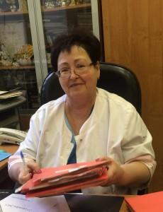 Potepun Tatiana Borisovna-zaveduyuschaya otdeleniem-vrach ftiziatr